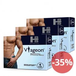 3x Nowy Viageon tabs - 12tab - Stań się Bogiem Seksu!