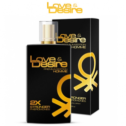 Love&Desire Gold men - 100ml